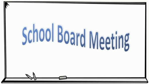Special Board of Education Business Meeting - December 2nd