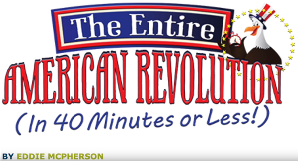 Greenwood Lake Drama Presented:  The American Revolution in Forty Minutes or Less